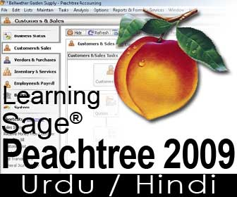 Sage Peachtree Accounting 2009 Free Training course in Urdu / Hindi